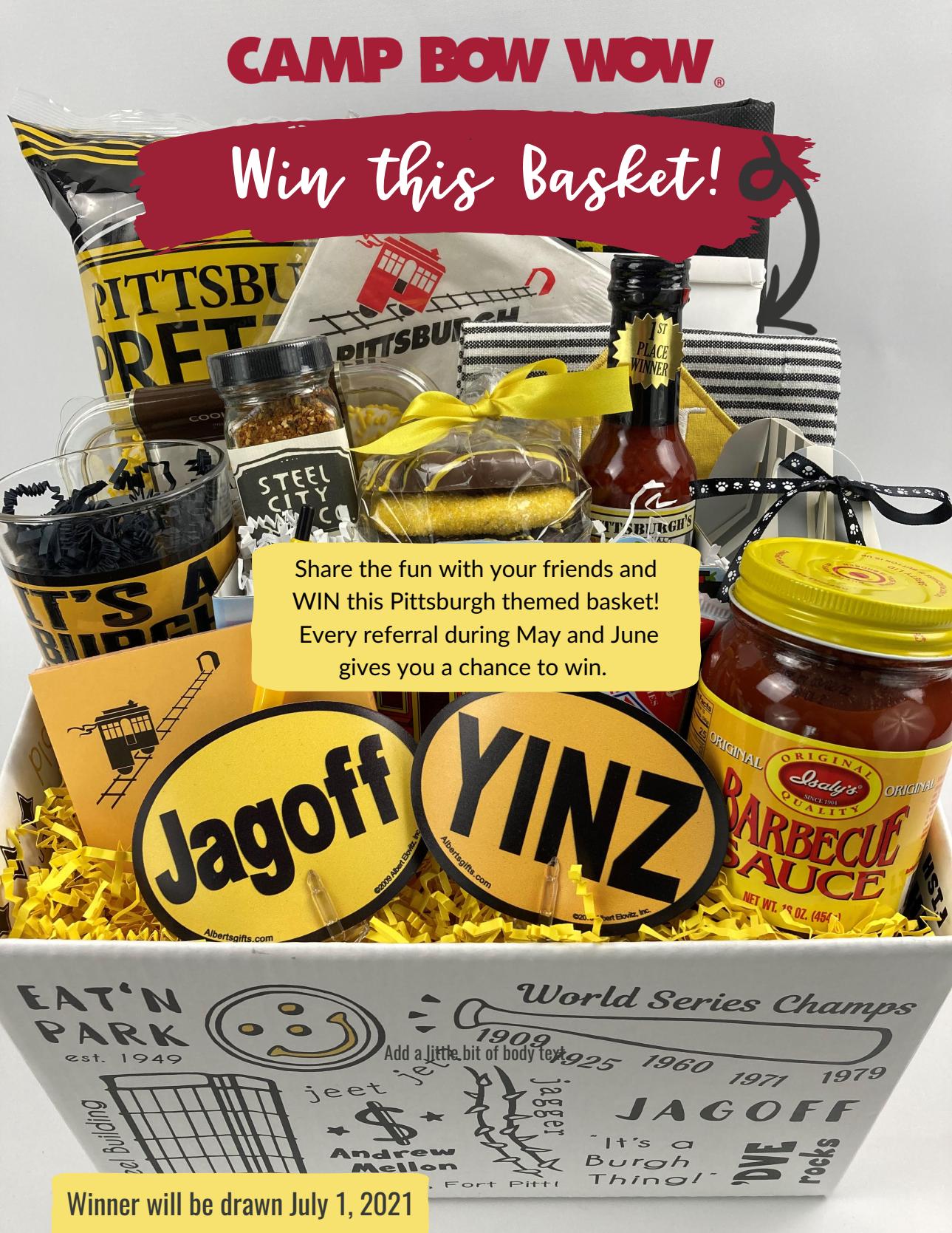 Pittsburgh Prize Basket